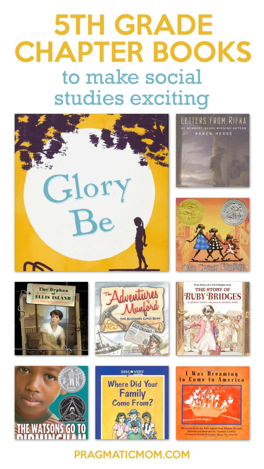 5th Grade Chapter Books to Make Social Studies Exciting