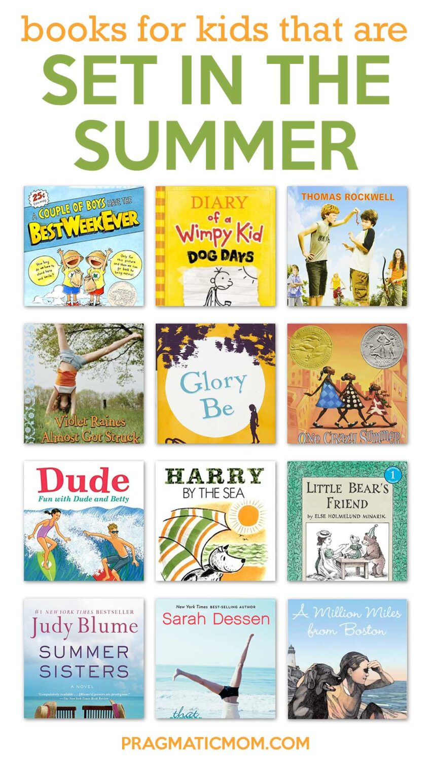 20 Great Books for Kids Set During the Summer