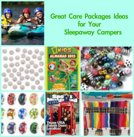 best care packages for sleep away camp