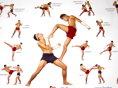 muay thai form