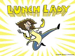 Lunch Lady, graphic novel