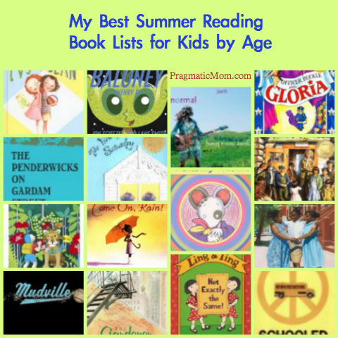 summer reading lists by age, best summer book lists for kids