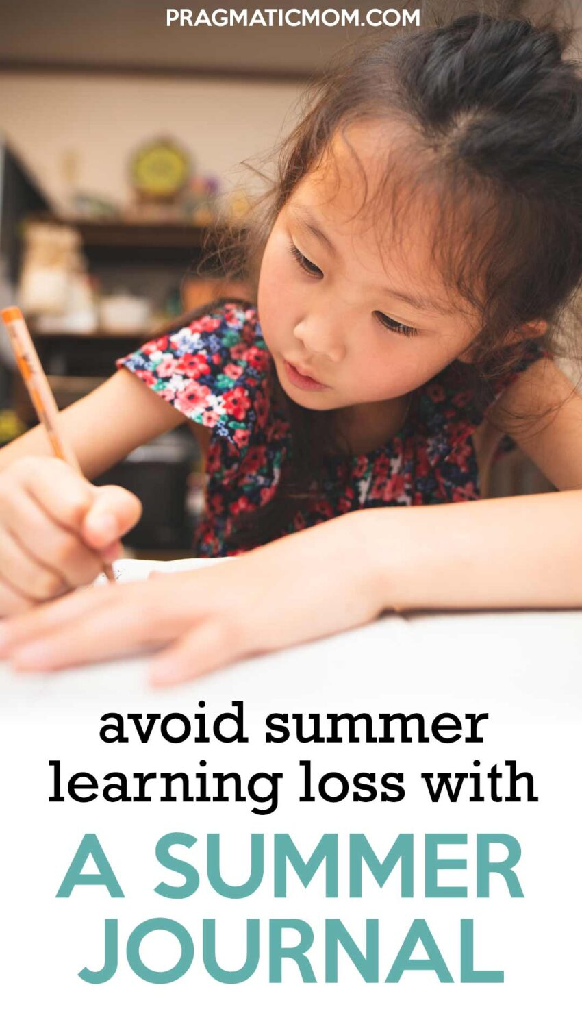 Avoid Summer Learning Loss with a Summer Journal