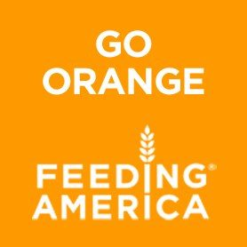 Go Orange, Feeding America, Go Orange Hunger