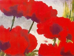 Emil Nolde poppies