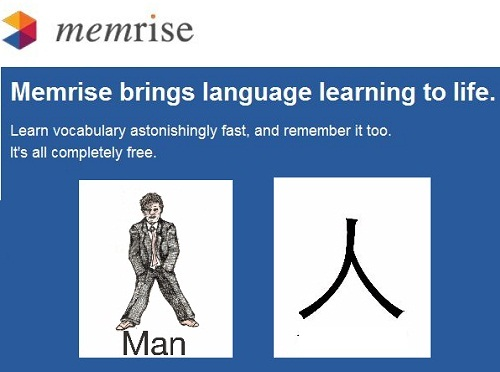 Memrise, foreign language website, Mandarin Chinese,