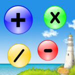 pop math, bubble math, popping bubbles math fact app, math apps for kids