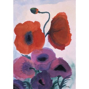 Emile Nolde, flowers,