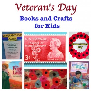 Veteran's Day books and crafts for kids