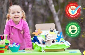 Green Kid Crafts monthly subscription science and craft kits