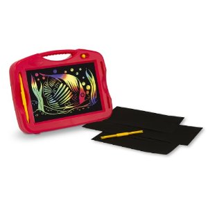 scratch art light box,