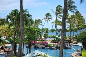 salt lagoon Grand Hyatt Regency Resort Hawaii