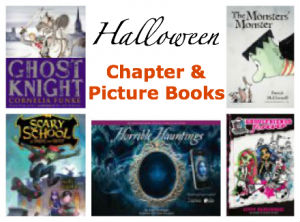 best Halloween books for kids, best Halloween chapter books for kids