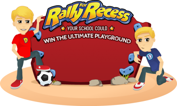 Rally for Recess, Danimals, win new playground for your school