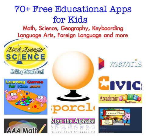 best free educational apps for kids free math websites free science websites for kids - Kids Images Free