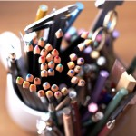 Japanese sketch pad pencil set