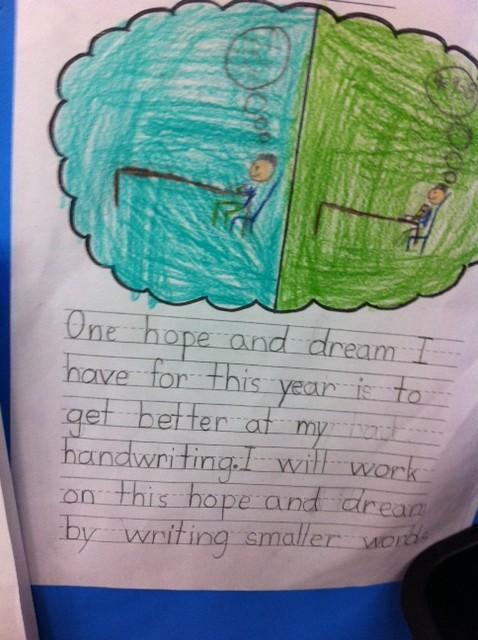 2nd grade hopes and dreams, PragmaticMom