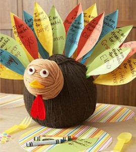 Nichole Heady, gratitude turkey project for kids