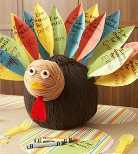 Nichole Heady, gratitude turkey project for kids