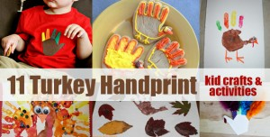 chiquita moms, turkey handprint crafts,