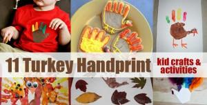 chiquita moms, turkey handprint crafts,