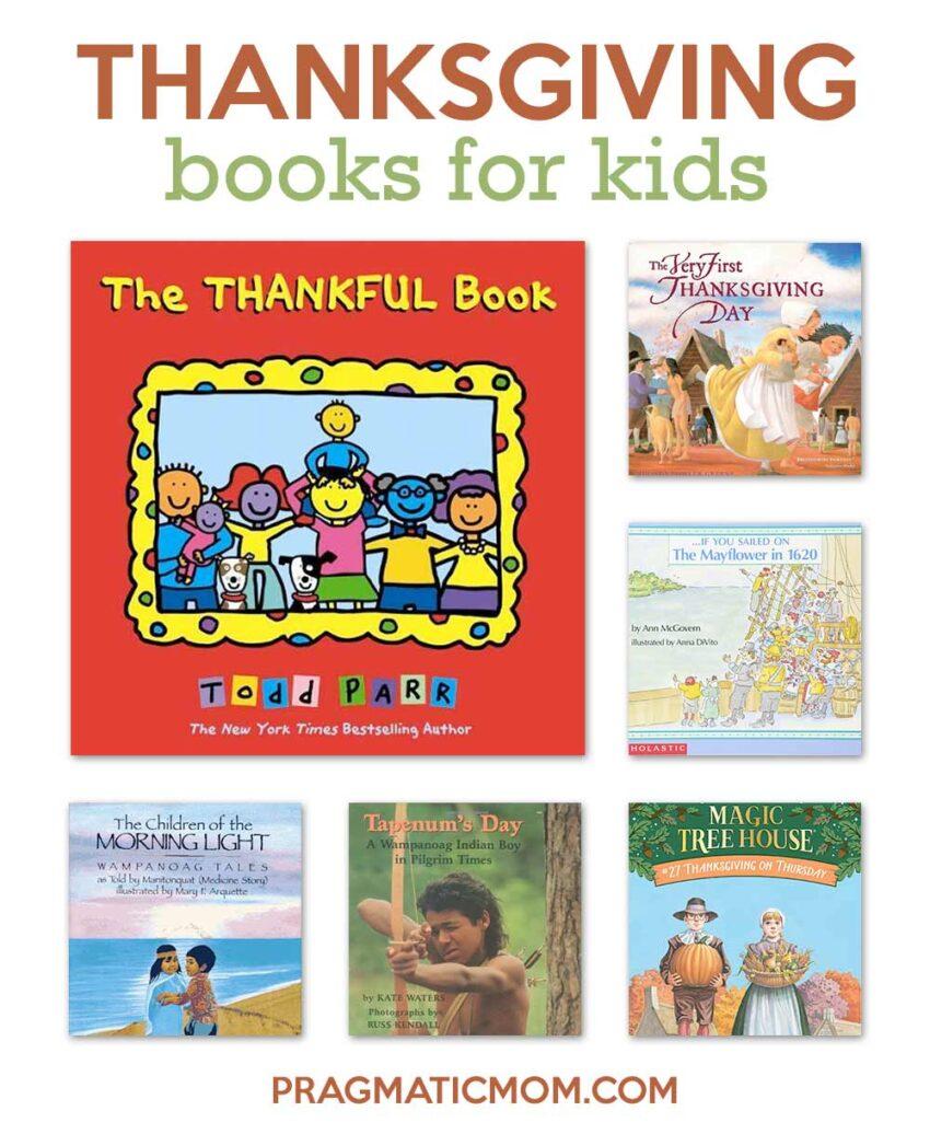Teaching Gratitude to Kids with Thanksgiving Books