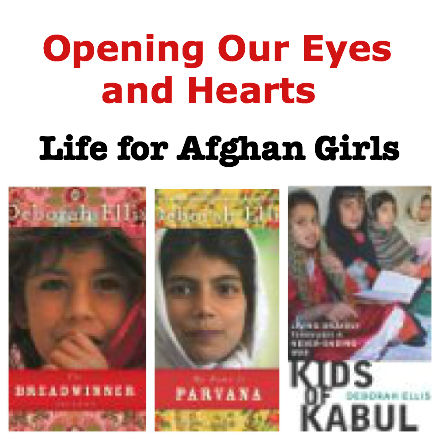Parvana, Parvana series, life for Afghan girls, Afghanistan today, 6th grade social studies, 7th grade social studies,