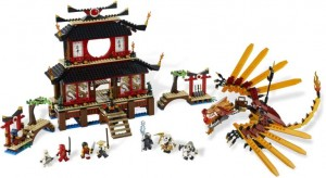 Ninjago fire temple set