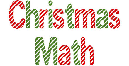 Christmas math trivia, math advent calendar for kids, count down to xmas,