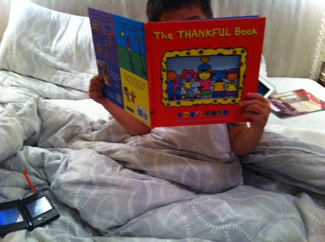 The Thankful Book, 21 Days of Gratitude