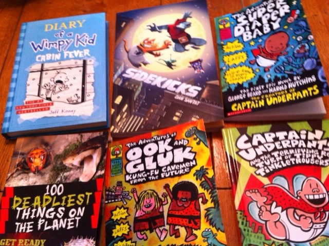 2nd grade books for boys, school book fair