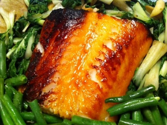 Miso marinated fish, Weelicious, Catherine McCord