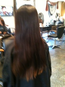 Locks of Love donation, donating hair,