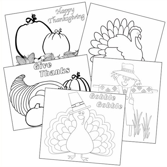 kaboose coloring pages thanksgiving crafts - photo #33