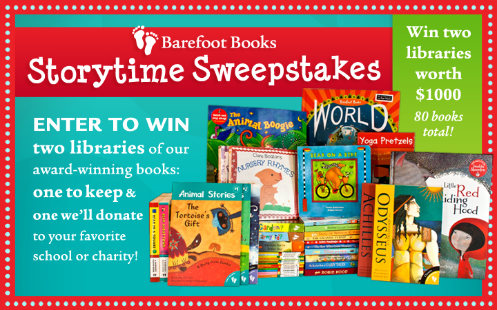 barefoot books sweepstakes