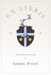 Felix Doolittle, book plates for kids, custom book plates, book labels for kids