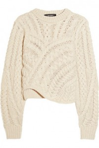 Isabel Marant sweater chunk knit