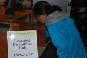 mirror box dyslexia understanding our differences activity for Wonder by R J Palacio