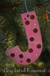 alphabet ornaments