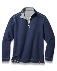 Tommy Bahama reversible half zip sweatshirt for men