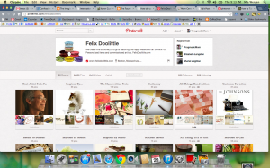 Felix Doolittle Pinterest