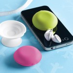 ear bud holder, The Container Store