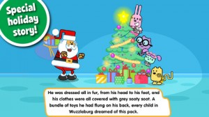 Wow Wow Wubbsey app, Christmas ebooks for kids