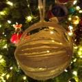 yarn ornament craft for kids