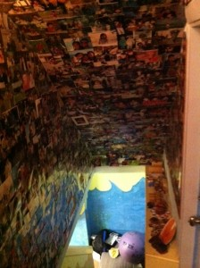 tunnel of photos, Lifeables, saving photos and memories of kids