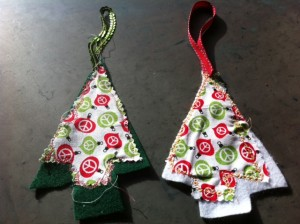 homemade christmas ornaments by kids, kids crafts ornaments for christmas tree