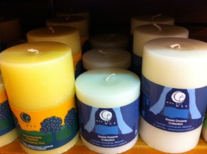 candles at whole foods, hostess gifts