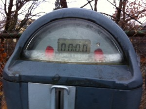 empty parking meter, acts of random kindness, random acts of kindness, RAOK