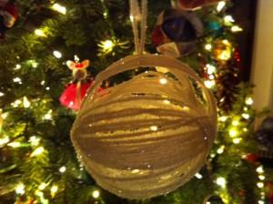 yarn ball homemade ornament