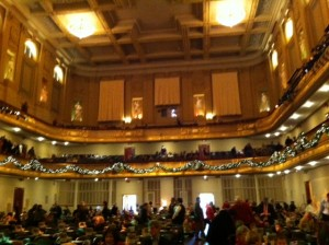 Symphony Hall Boston, amazing acoustics